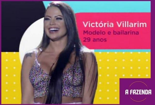 Victória Villarimé uma dasparticipantesde'A Fazenda 12'em2020.