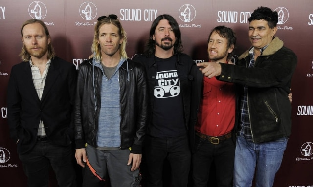 Foo Fighters convidou Rick Astley para cantarem juntos 'Never Gonna Give You Up'.