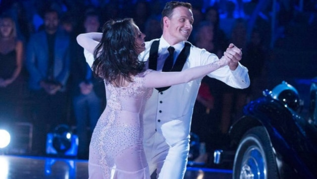 Ryan Lochte no Dancing With the Stars.