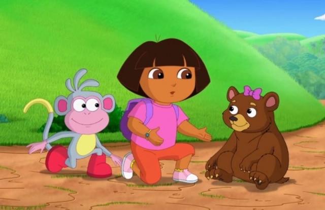 Cena do desenho 'Dora, a Aventureira'