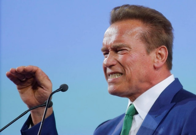 Arnold Schwarzenegger fez doação de US$ 100 mil (aproximadamente R$ 320 mil)para ONG de combate ao antissemitismo.