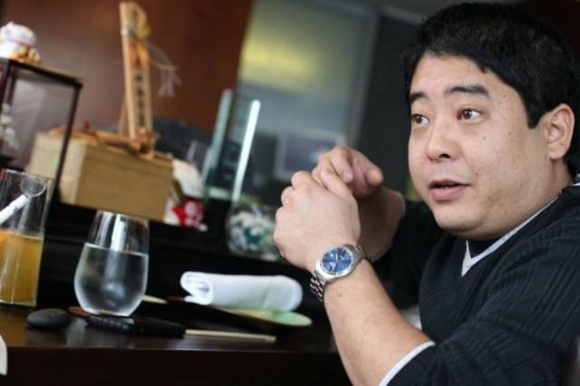 O chef peruano Mitsuharu Tsumura
