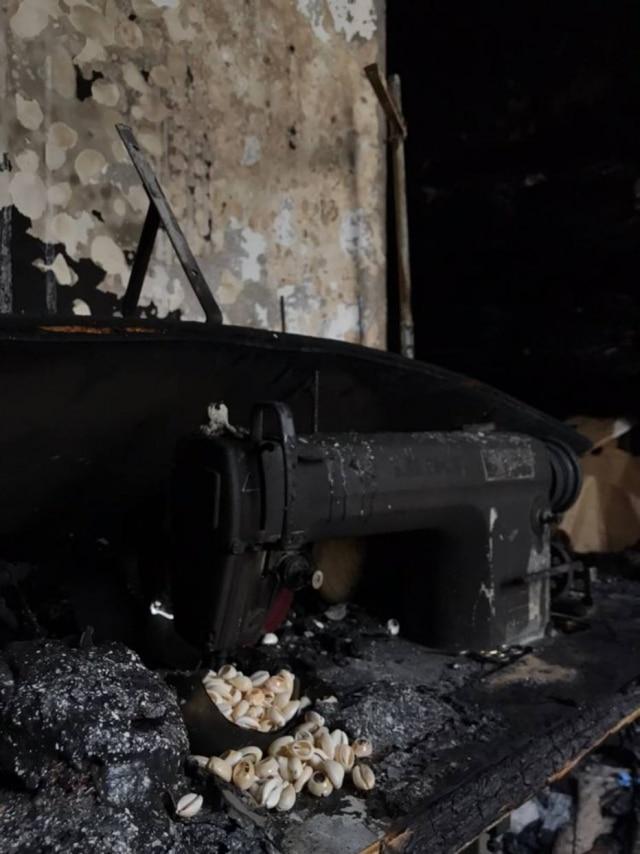 Incêndio destrói o ateliê de Isabela Capeto