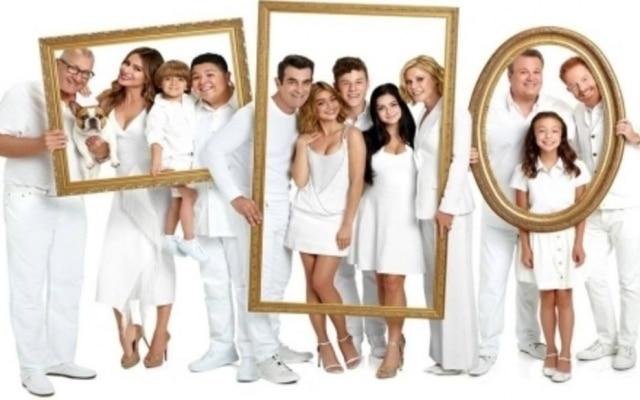 A série americana 'Modern Family', que chega ao fim após 11 temporadas.