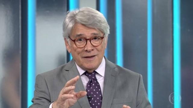 Sérgio Chapelin em sua despedida do 'Globo Repórter'