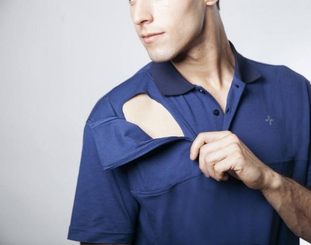 ACare and Wear criou uma camiseta para pessoas que fazem uso de medicamentos injetáveis.