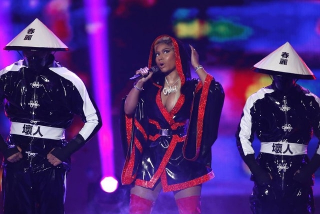 A rapper Nicki Minaj emplacou hits como 'Anaconda', 'Super Bass' e 'Bang Bang'.