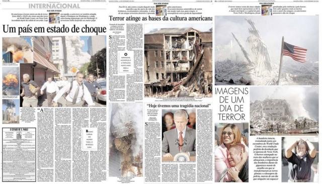 Cobertura do 11 de Setembro de 2001