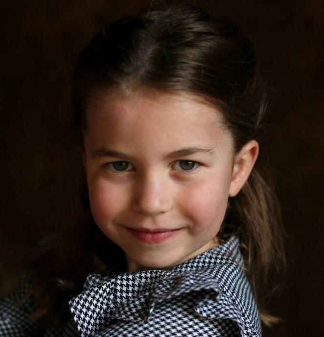 Princesa Charlotte, filha de Kate Middleton e do príncipe William.