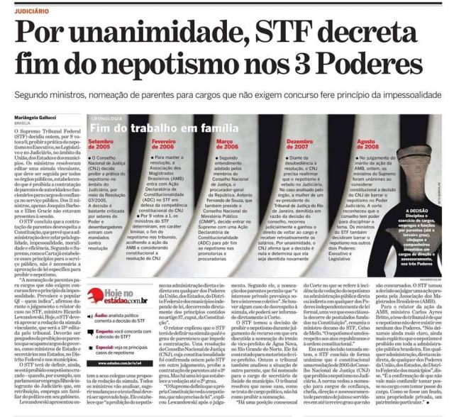 > Estadão - 21/8/2008