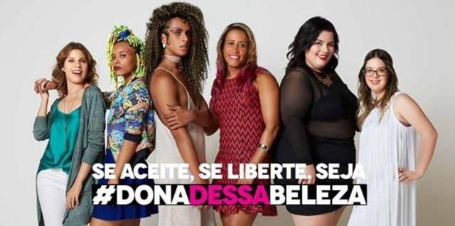 Campanha '#Donadessabeleza', da Avon.