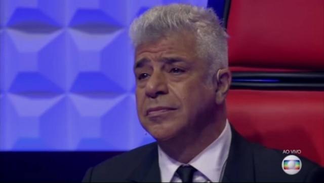 """Lulu Santos se emocionou com interpretação de """"Hino ao Amor"""""""