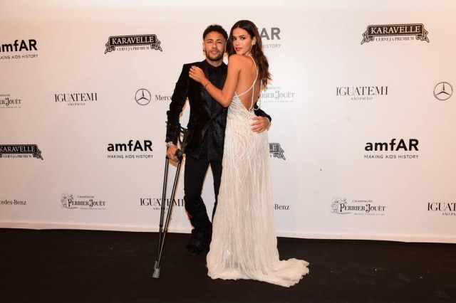 Neymar Jr. e Bruna Marquezine no amfAR 2018