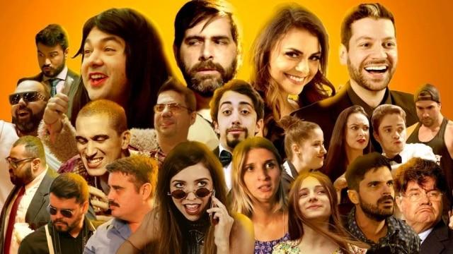 Novela é uma sátira humorística com a participação de artistas de diferentes canais, como 'Porta dos Fundos' e 'Parafernalha'.