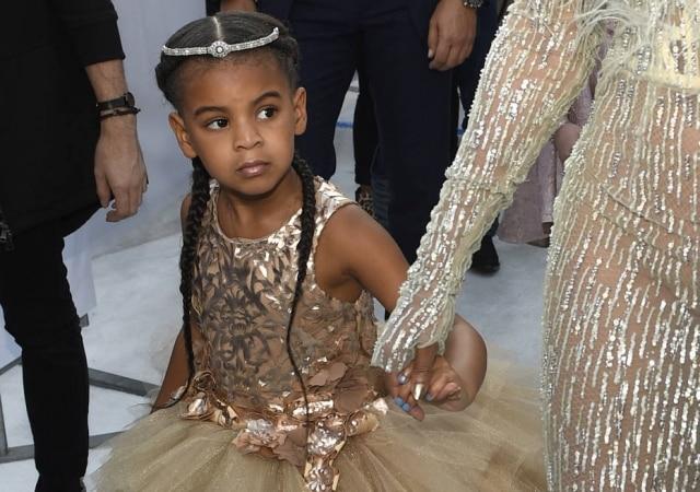Blue Ivy, filha de Beyoncé e Jay-Z.