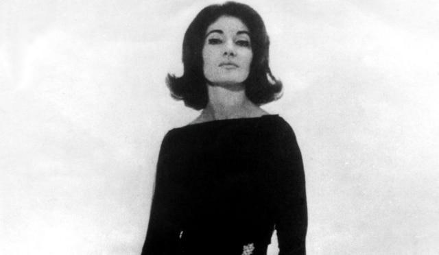 A cantora Maria Callas falaceu em 1973 na França