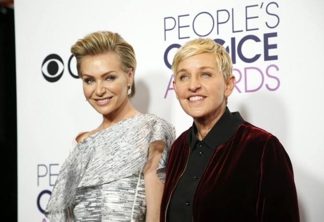 Portia de Rossi eEllen DeGeneres