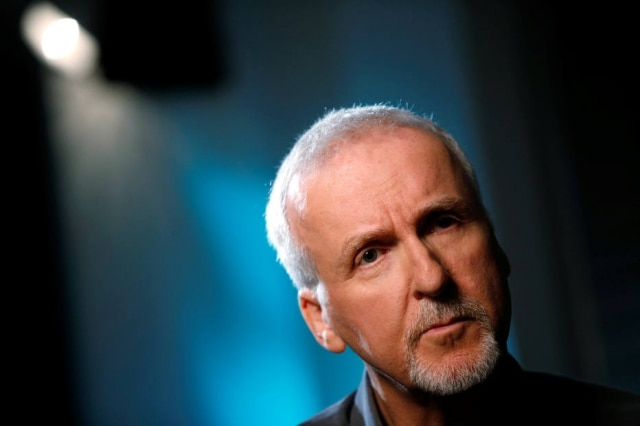 O cineasta e diretor James Cameron
