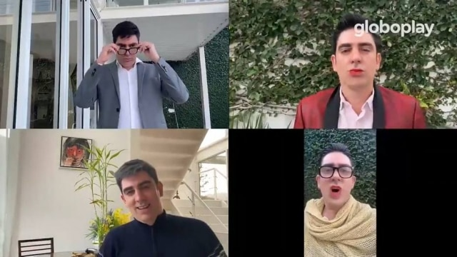 Em vídeo, Marcelo Adnet aparece imitando os políticos Ciro Gomes, Marina Silva, Lula e Dilma Rousseff