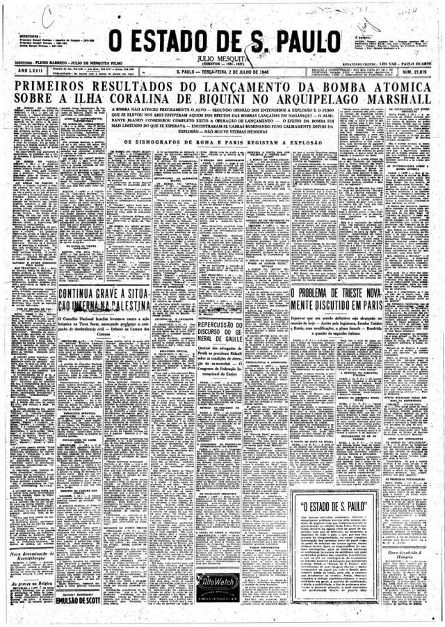 > Estadão - 02/7/1946