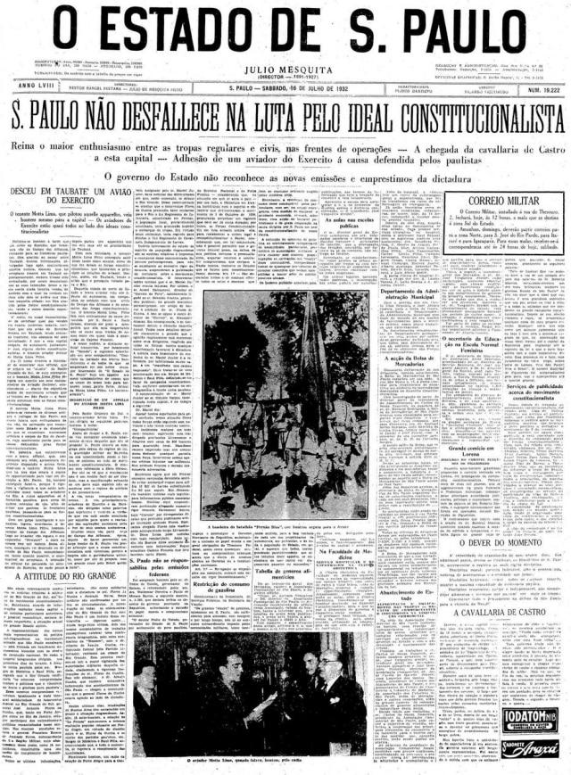 Estadão - 16/7/1932