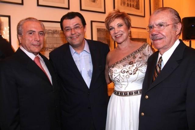 Em sua festa de aniversário em março, Marta Suplicy usou um vestidoSamuel Cirnansck