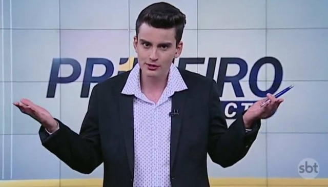 Dudu Camargo é o novo apresentador do 'Primeiro Impacto'