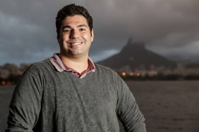 O chef Felipe Bronze, do Rio