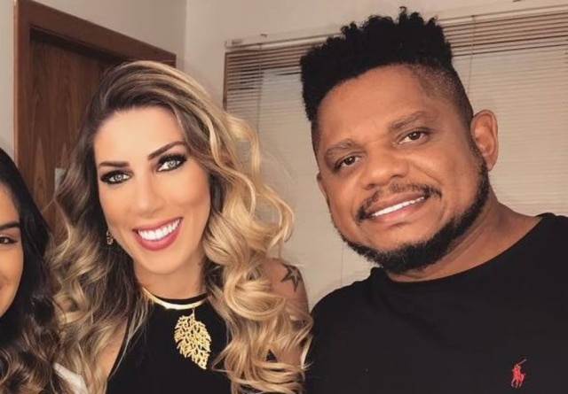 Tati Minerato e Marcelo Galático, campeões do 'Power Couple 3'