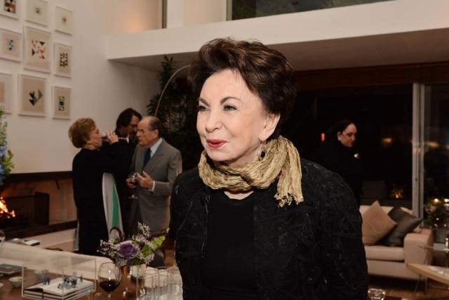 Beatriz Segall em seu aniversário de 90 anos, em 2016.