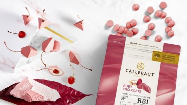 Ruby. O chocolate rosa desenvolvido pela gigante belga
