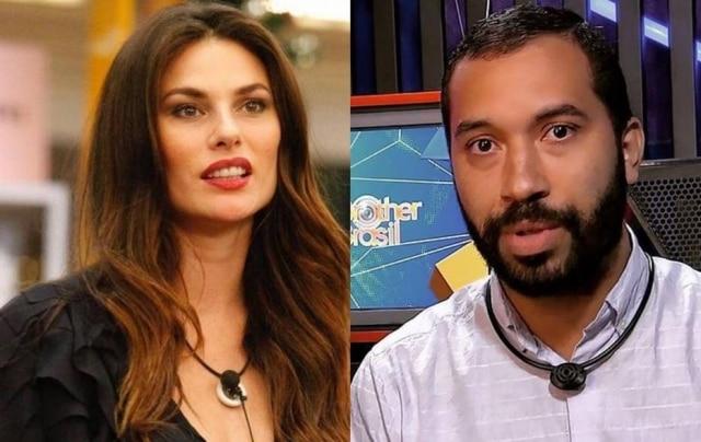 Dayane Mello é finalista do BBB versão Itália com a ajuda de brasileiros e italianos fazem mutirão para eliminar Gilberto