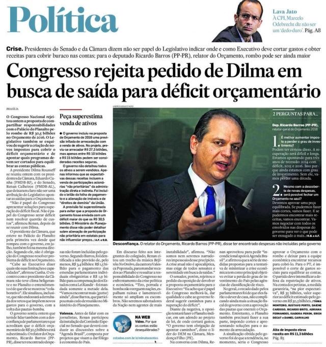 >> Estadão - 02/9/2015