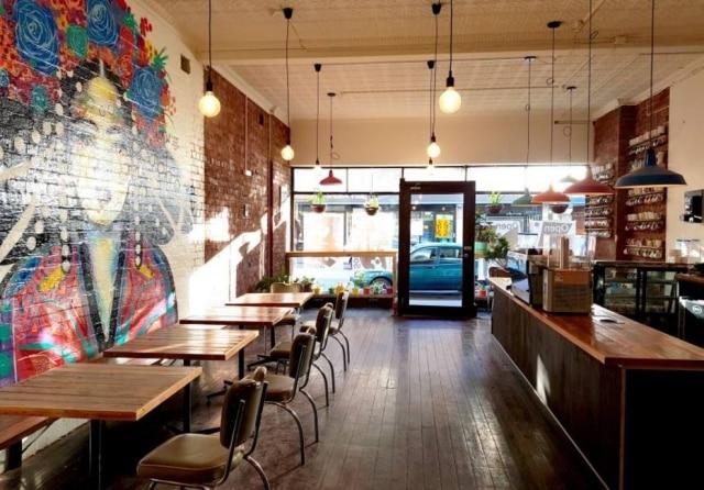 Café 'Handsome Her' em Melbourne, Australia