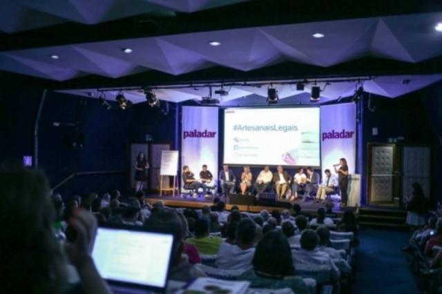 Debate promovido pelo Paladar em 2017, sobre produtos artesanais