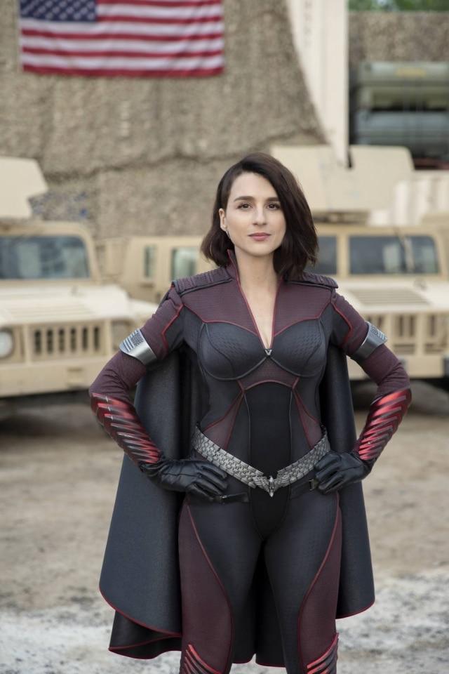 Um dos destaques da temporada é a super-heroína Stormfront, nova integrante dos Sete