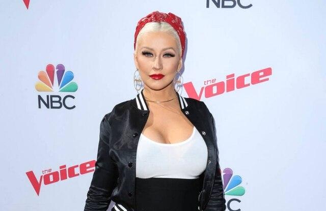 Christina Aguilera é jurada do 'The Voice'
