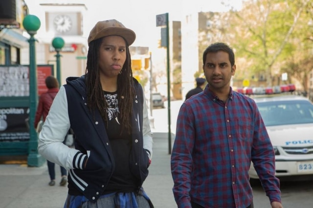 Denise (Lena Waithe) e Dev (Aziz Ansari) em 'Master of None'.