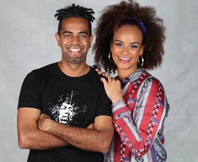 Luciana Mello eJair Oliveira fazem uma homenagem ao pai, Jair Rodrigues