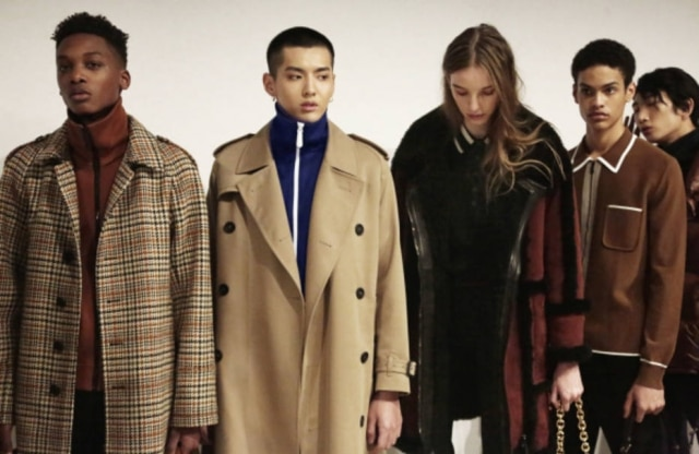 Burberry: trench coats e mood esportivo