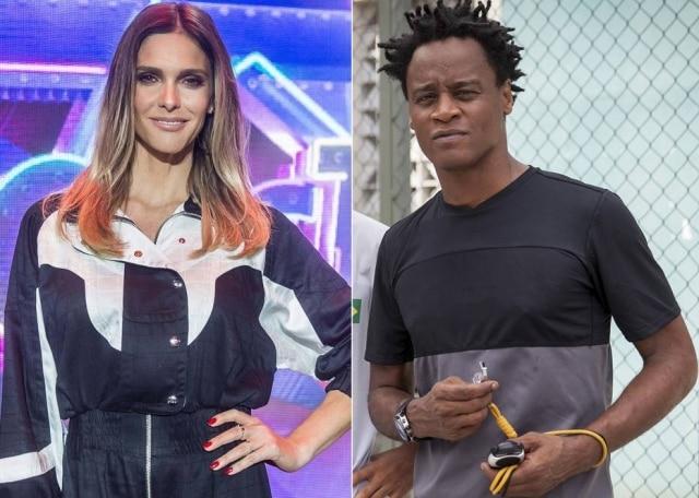 Fernanda Lima deu uma leve bronca emToni Garrido no 'Superstar'