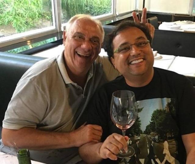 Geraldo Luís e Marcelo Rezende eram muito amigos.
