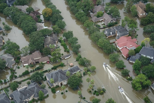 Flooding from Hurricane Harvey. (Getty Images/iStockphoto)
