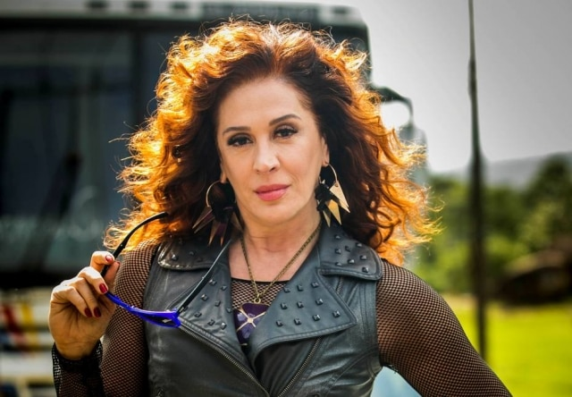 Claudia Raia interpreta a persoangem Lidiane na novela 'Verão 90'.