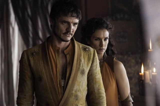 Pedro Pascal como Oberyn Martell, em 'Game of Thrones'.