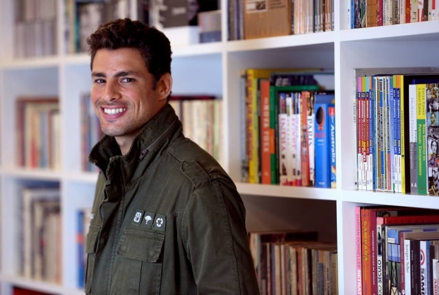 Cauã Reymond foi entrevistado por Pedro Bial