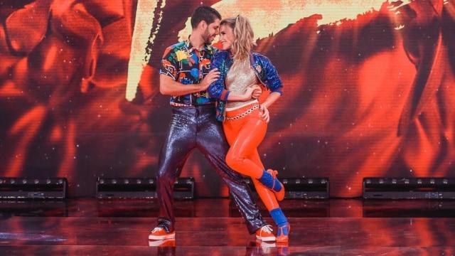 Mariana Ferrão na 'Dança dos Famosos'