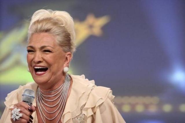 A apresentadora Hebe Camargo, que morreu em 2012.