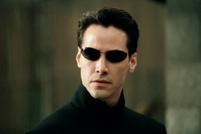Keanu Reeves como Neo em 'Matrix: Reloaded'