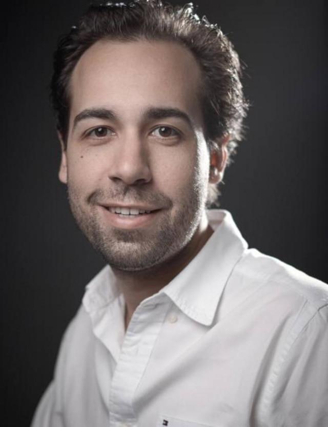 O empresário Leandro Marcato, à frente da Veromobili